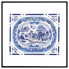 Wedgewood Blue Willow Platter